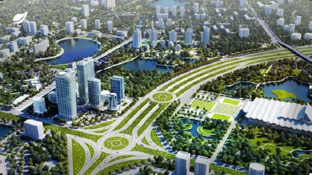"""Hà Nội xây dựng """"đô thị vườn"""" bên Đại lộ ThăngLong"""