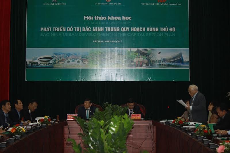Hội thảo quy hoạch đô thị Bắc Ninh trong Vùng Thủđô